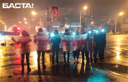 Зеленый Луг и Лошица вышли на вечерний протест