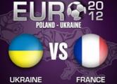 Матч Украина - Франция был прерван на час из-за ливня