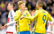 Сборная Беларуси пропустила от Швеции четыре мяча