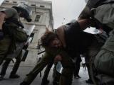 В Афинах задержали более двухсот участников акций протеста