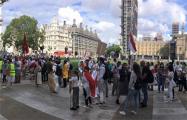 Акция «Пусть Свободы» в поддержку белорусов прошла в Лондоне