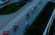 Видеофакт: Велопробег солидарности в Пинске