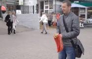 В Гродно активисты БХД сорвали продажу флажков с «георгиевской» лентой