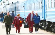 «Белорусы молодцы, начальник поезда - героическая женщина»