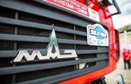 Белорусские грузовики стартовали в самой длинной гонке в мире