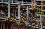 На «китайской» стройке вДроздах-2 рухнуло перекрытие