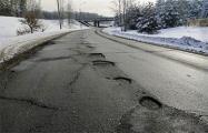«Ездить невозможно»: Что стало с дорогами в Минске после морозов
