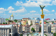 В Киеве Mercedes посольства Беларуси засветился в «мастерской езде»