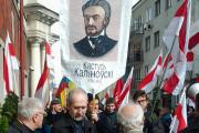 Активисты «организовали» митинг памяти Кастуся Калиновского по дороге в Минск
