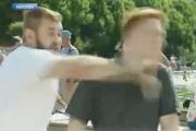 Ударивший журналиста НТВ «бородач» принял вызов «плейбоя»