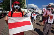 В Берлине состоялось шествие солидарности с Беларусью