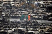 Число жертв взрывов в Тяньцзине превысило 100 человек