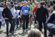 Бельгийский король пробежал 20-километровый марафон