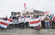 В Филадельфии прошел митинг солидарности с Беларусью