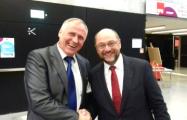 Николай Статкевич - на съезде Социал-демократической партии Германии в Берлине