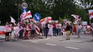 В субботу белорусская оппозиция продолжила блокировку границ с Литвой и Польшей