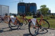 В Минске появился бесплатный прокат велосипедов