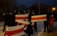 Вечерние протесты продолжаются в Беларуси