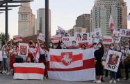 Белорусы Бостона сказали «нет» режиму Лукашенко