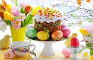 Белорусы празднуют Пасху с национальным колоритом
