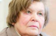 Валянціна Твардоўская: За Быкава бацька ўзышоў на вогнішча