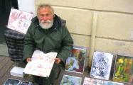 Известному бездомному художнику из Гомеля собрали деньги на дом