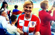 Президент Хорватии прилетела на игру с Данией эконом-классом