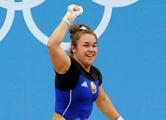 Дина Сазановец стала чемпионкой Европы по тяжелой атлетике
