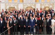 Лукашенко устроил в «Цал Дир Бие» роскошный прием для своих хоккеистов