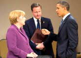 Обама, Меркель и Кэмерон обсудили новые санкции против России