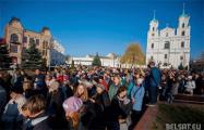 Более полутора тысячи католиков прошли Крестным ходом по Гродно