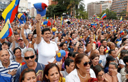 Венесуэльцы вышли на акцию против режима Мадуро