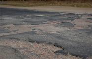 В Беларуси состояние дорог после зимы шокирует