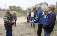 «Майдан» продолжается: в деревне под Борисовом вновь разгорелись споры из-за пилорамы