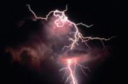 Машину Ирины Афанасьевой прожгло молнией