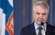 Глава МИД Финляндии: Мы продолжим поддерживать усилия по выходу Беларуси из кризиса