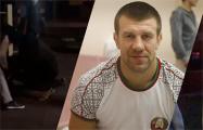 В Сети появилось видео, как похожий на Шакуту человек нападает сзади на белоруса