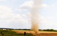 Видеофакт: Под Минском прошел «торнадо»
