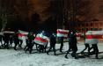 Жители Фрунзенского района вышли на марш