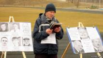 Пикет в Копыле: Конституции в Беларуси нет